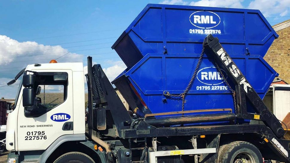 RML Lorry Carrying a Skip